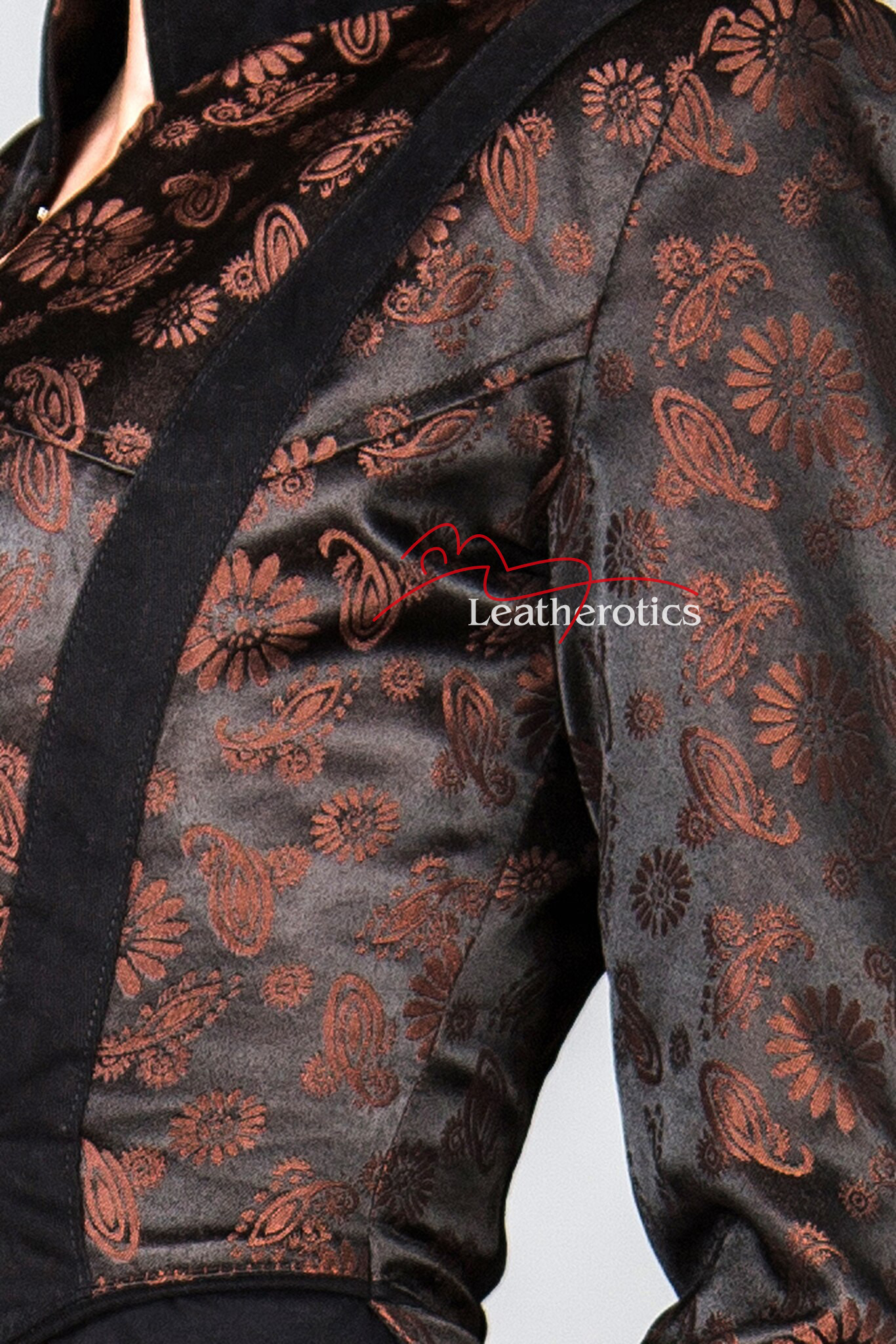 Ladies Tailcoat Gothic Vintage Costume Victorian Steampunk Jacket WTC2 Brown