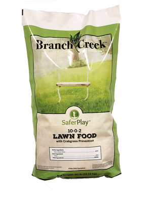 Branch Creek 10-0-2 Lawn Food with Crabgrass Prevention