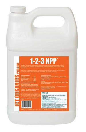 ICT Organics               NPP™ Natural Plant Protection