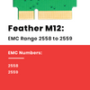 Feather M12 2TB SATA 6G SSD for MacBook Air 11 and 13 inch 2012  models