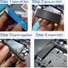 Sintech Cooling Heatsink for M.2 NGFF 2280 NVMe SSD
