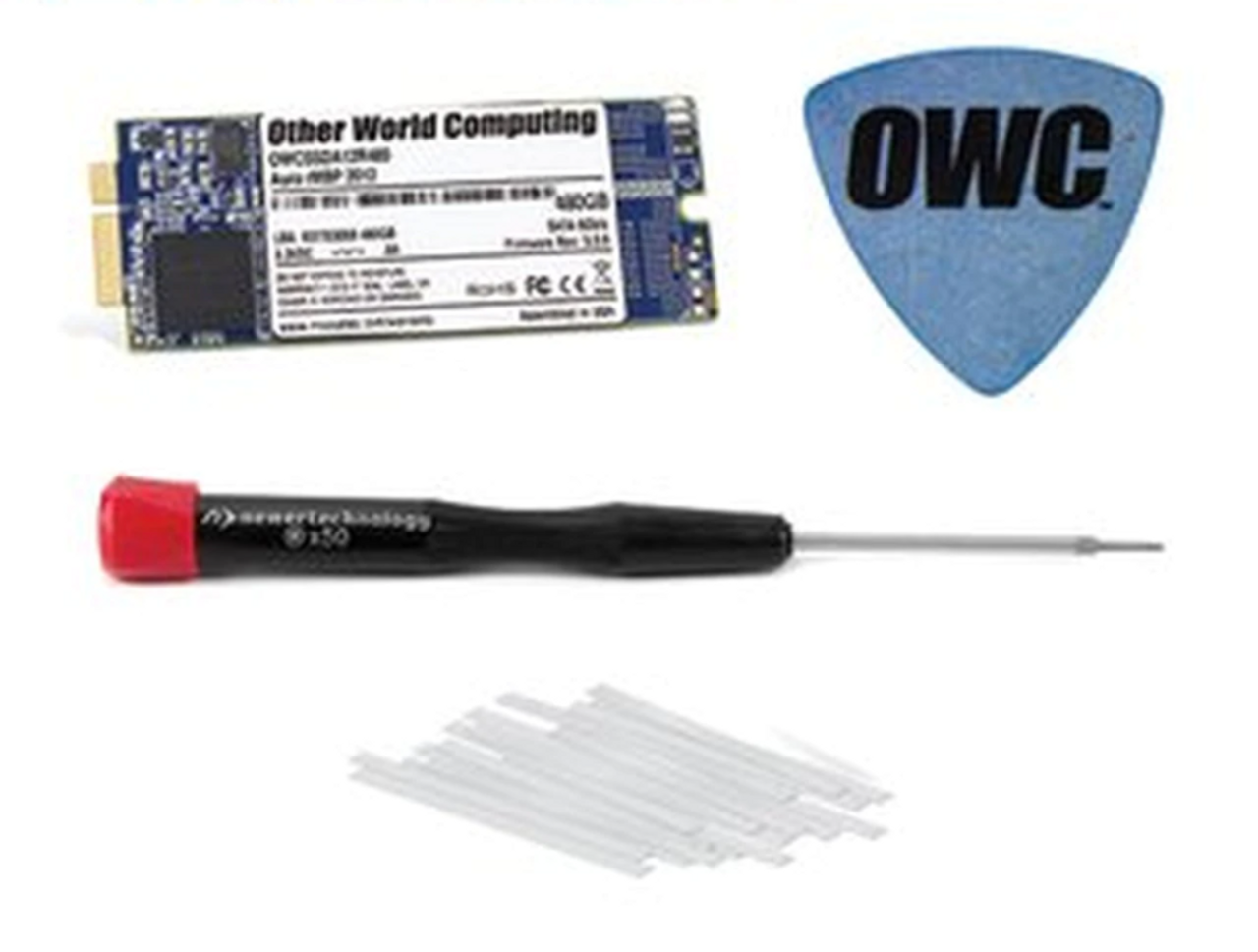 OWC 1TB Aura 6G Solid State Drive for Late 2012 and Early 2013 iMac with DIY kit