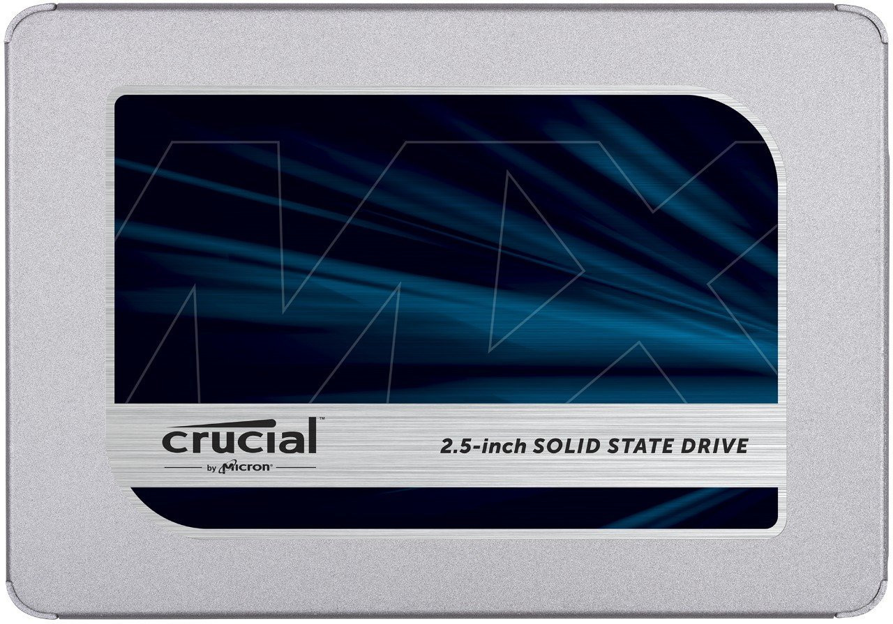 Crucial MX500 2TB SATA 2.5-inch 7mm (with 9.5mm adapter) Internal SSD CT2000MX500SSD1