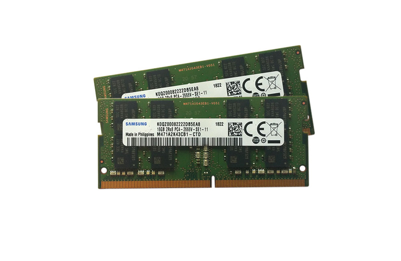 Samsung 32GB kit (2 x 16GB) DDR4,M471A2K43CB1-CTD