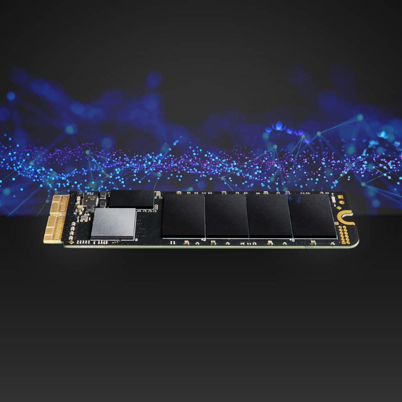 Transcend Jetdrive 855, 240GB SSD Upgrade Kit for MacBook Air Mid 2013 - 2017,MacBook Pro (Retina) Late 2013 - Mid 2015, Mac mini Late 2014 and Mac Pro Late 2013
