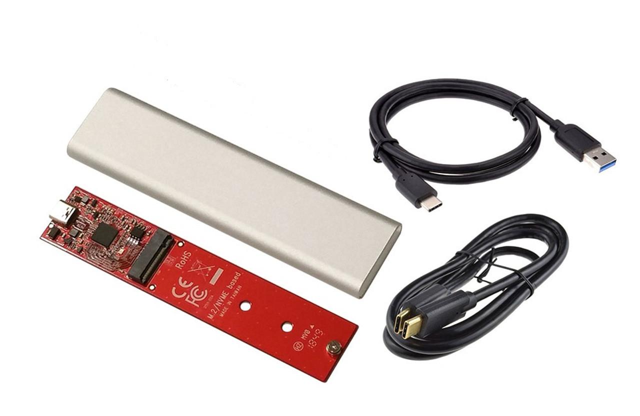 M.2 PCIe NVMe SSD enclosure FLXENCLNVME