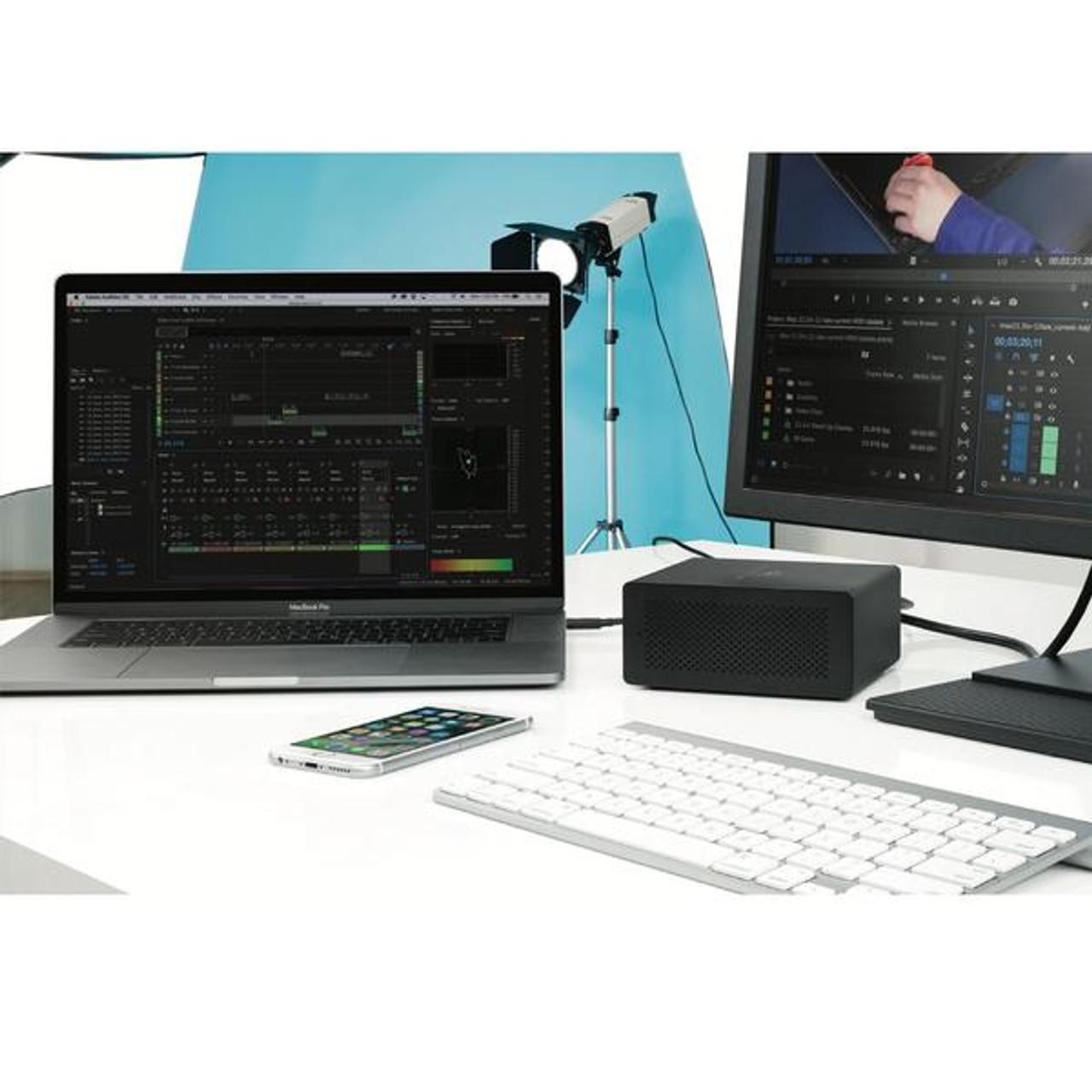OWC Express 4M2 Enclosure for 4 x M2 SSD with SoftRAID XT Lite