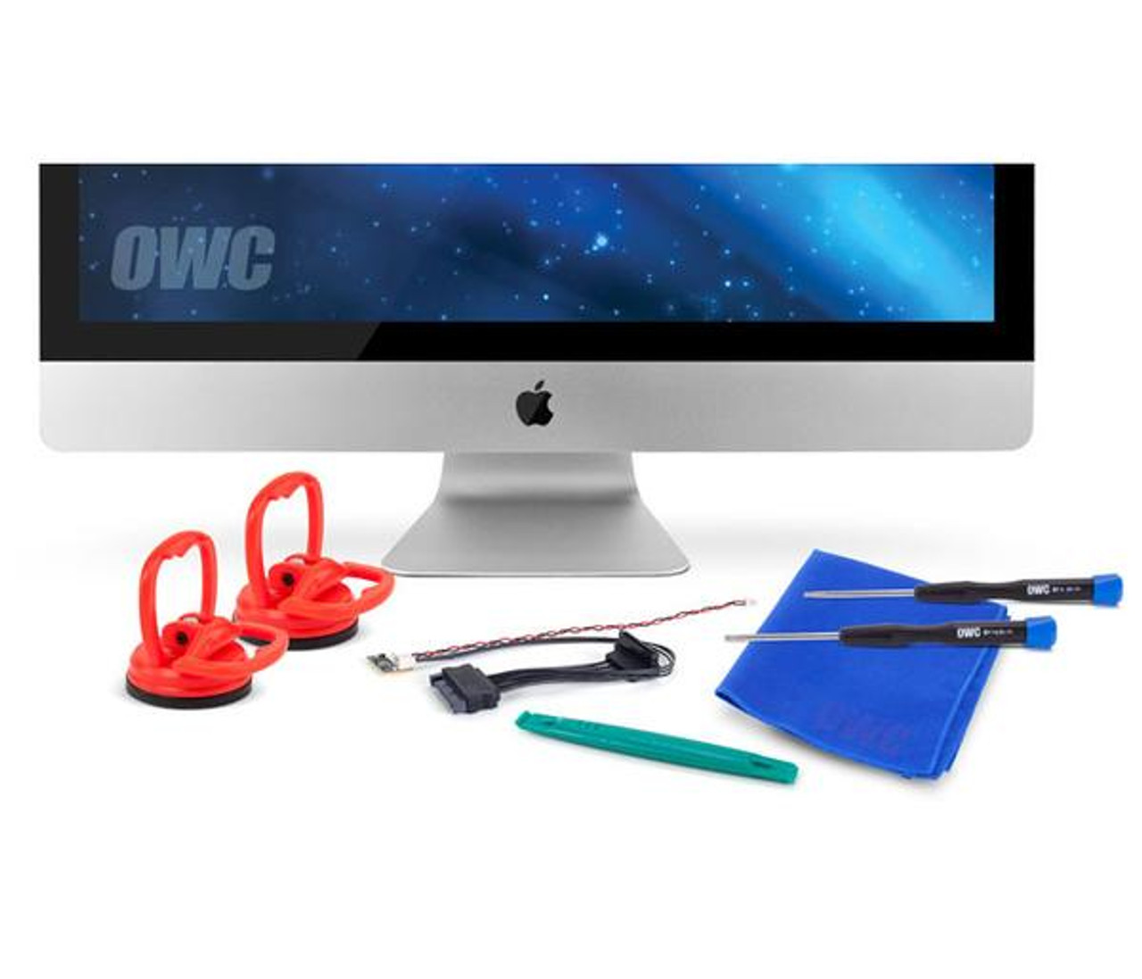 OWC Complete Hard Drive Upgrade Kit including tools and Digital Thermal Sensor for iMac late 2009-2010 Models