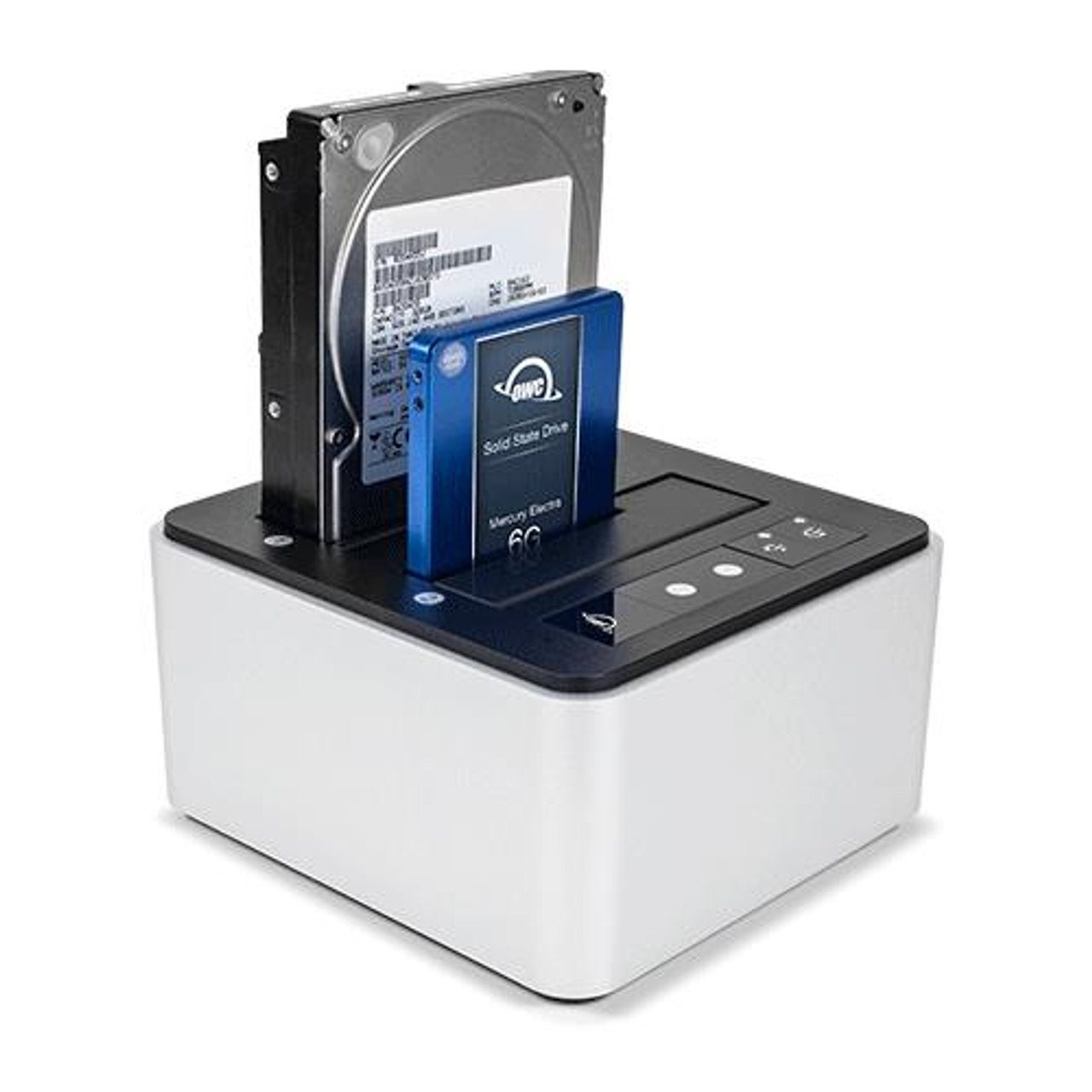 "OWC USB-C Drive Dock - Dual Drive Bay Solution with USB 3.1 Gen 2. For 2.5"" and 3.5"" SATA Drives"