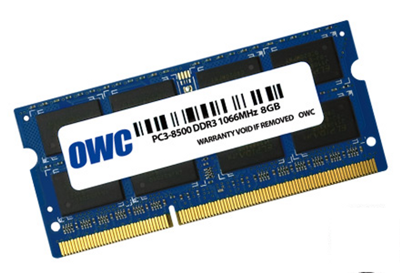 204-Pin SODIMM_PC3-8500 DDR3 1067MHz_Mac memory_ OWC8566DDR3S8GB