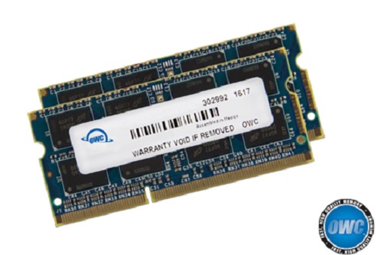 OWC 16GB (8GB x 2) 1867MHZ DDR3 204-Pin SODIMM PC3-14900 ram memory