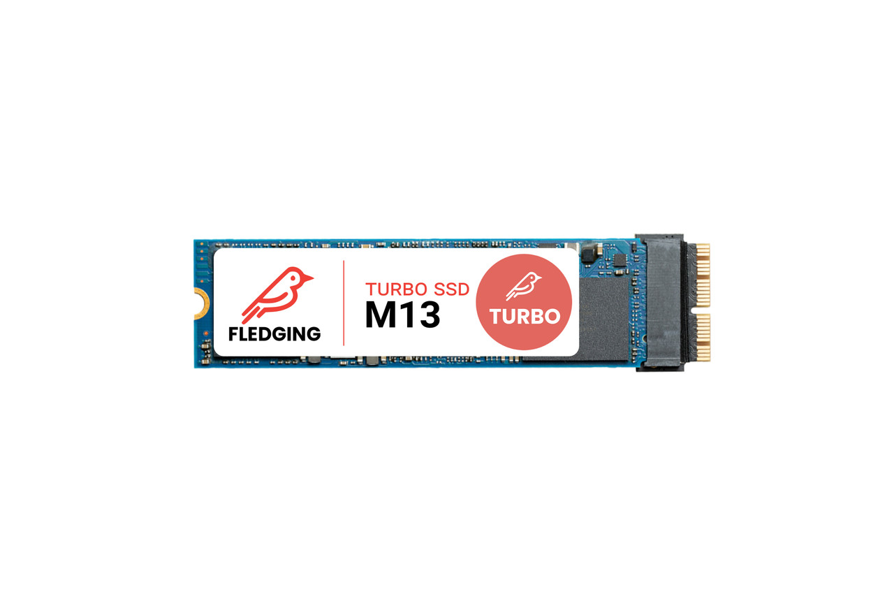 Feather M13 Turbo 2TB NVME SSD for MacBook Air and Macbook Pro mid 2013 and newer