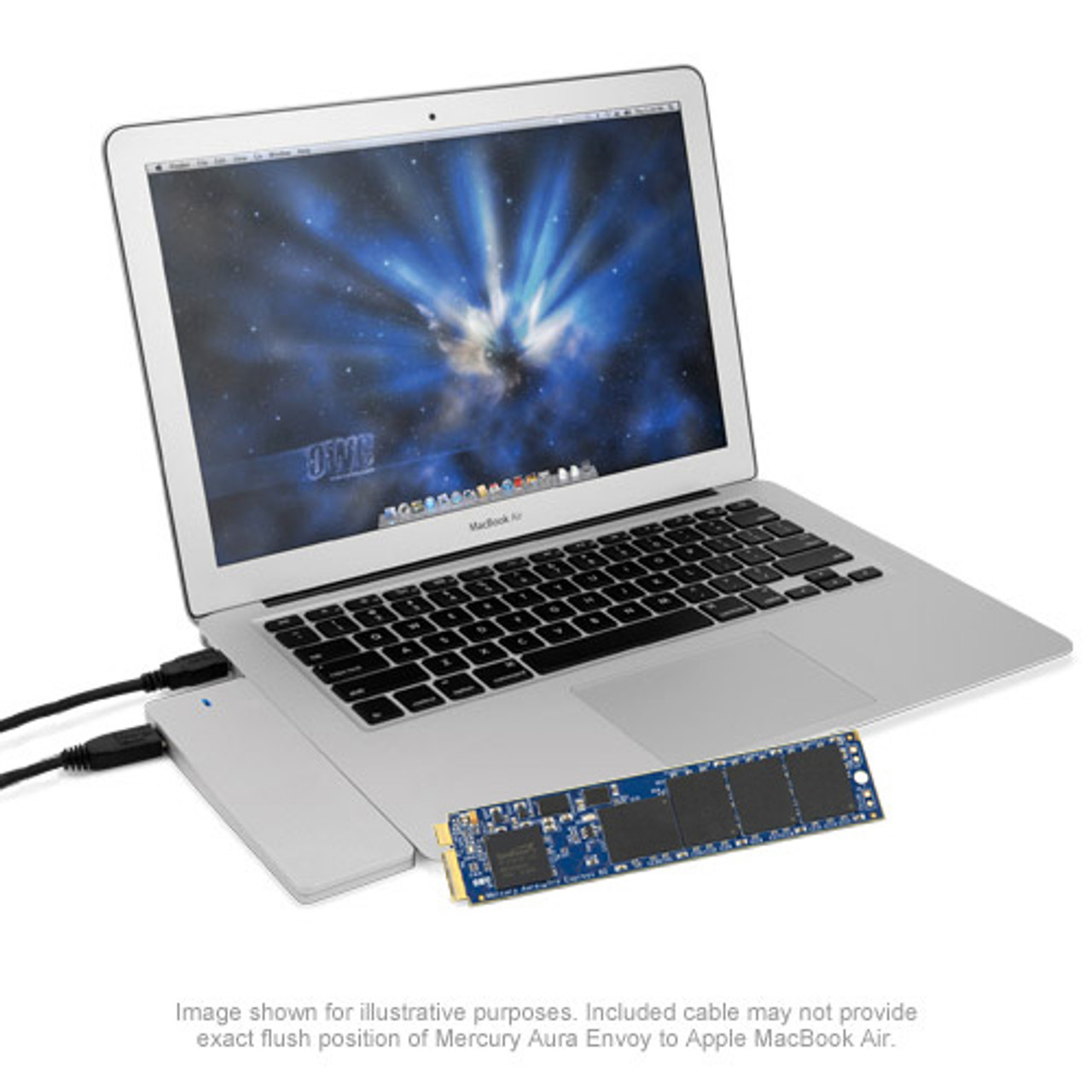 500GB OWC Aura (Professional Model) 6G SSD with Upgrade Kit (for MacBook Air 2012)