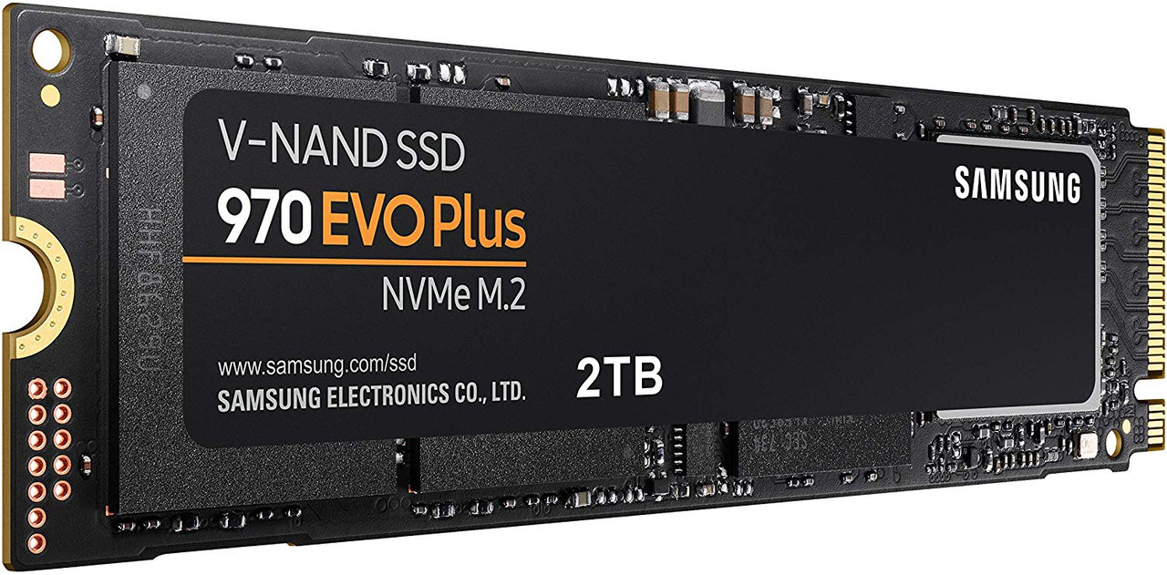 Samsung 970 EVO Plus 2TB M.2-2280 PCI-e 3.0 x 4 NVMe Solid State Drive SSD