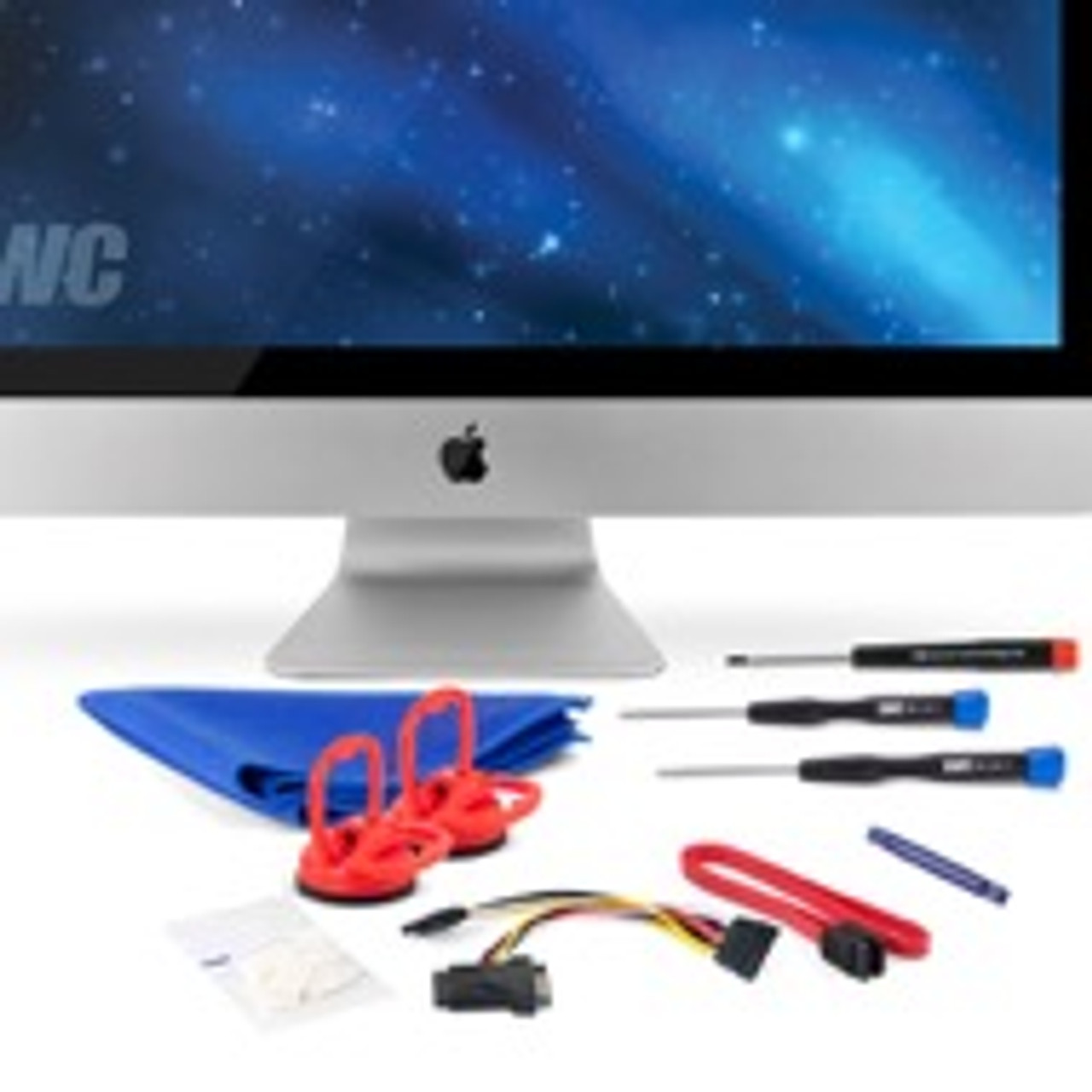 """OWC Internal SSD DIY Add-On Kit with Tools (for 27"""" Apple iMac Mid-2010)"""