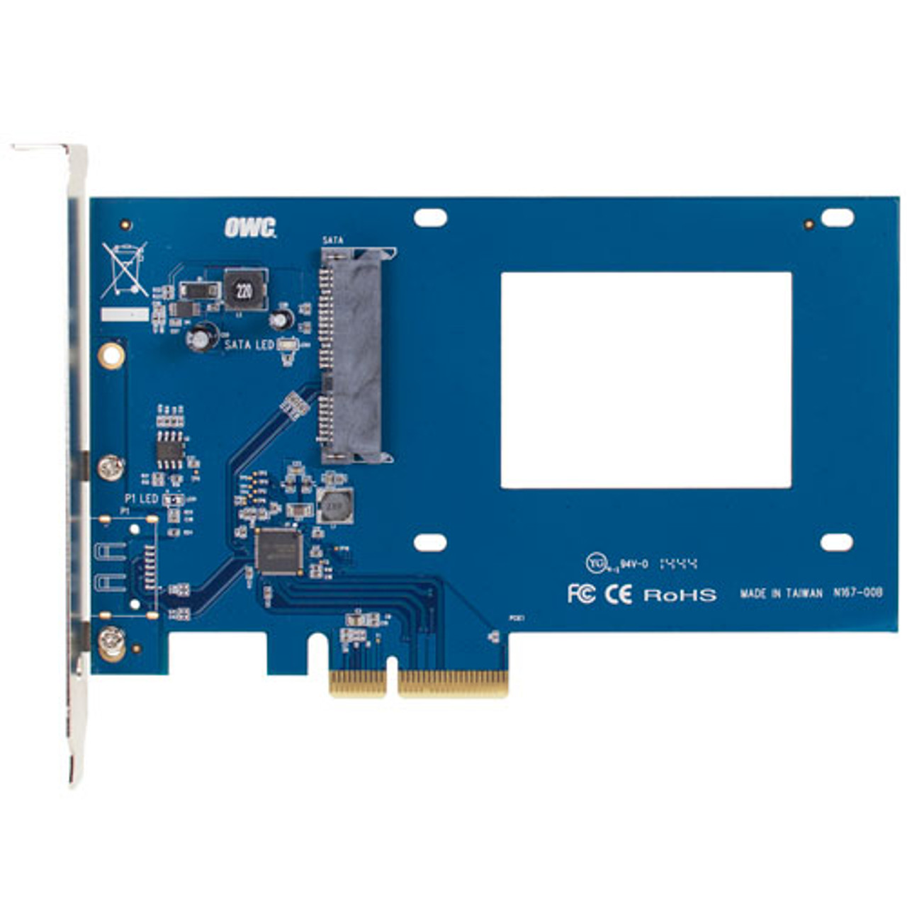 250GB OWC 6G SSD and OWC Accelsior S PCIe to 2.5-inch adapter bundle