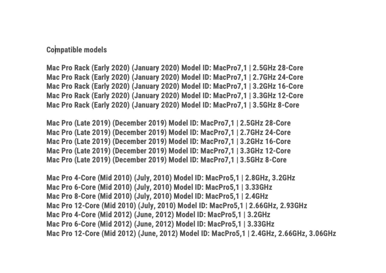 Flexx LX400 SSD compatibility chart