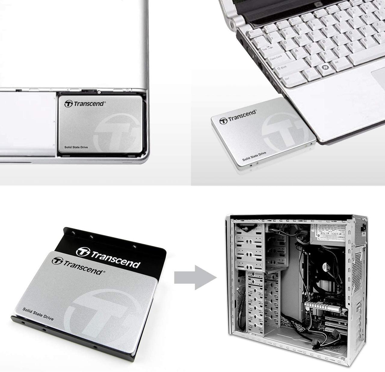 Transcend 2TB 2.5-inch SATA III 6G 3D NAND 230S series SSD