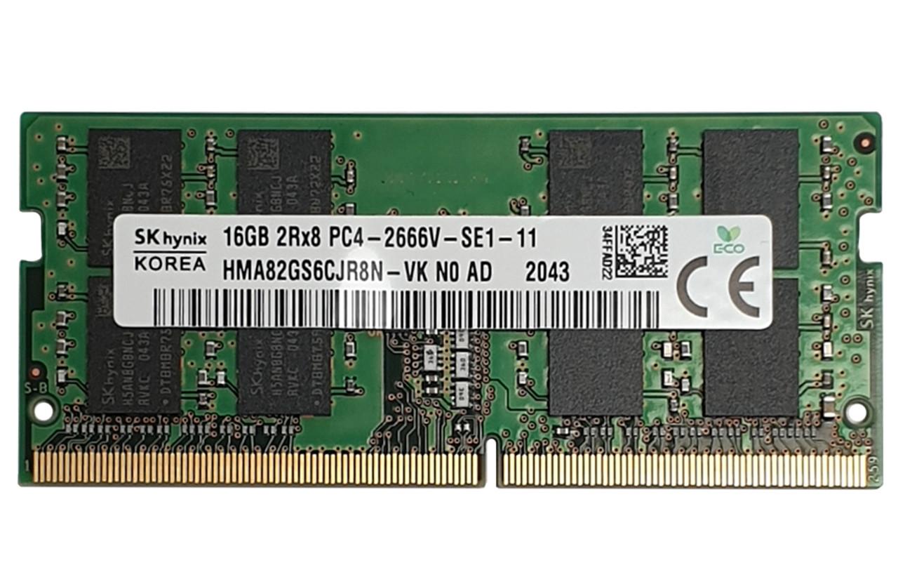 16GB sodimm ram Hynix 2666MHz_HMA82GS6CJR8N-VK