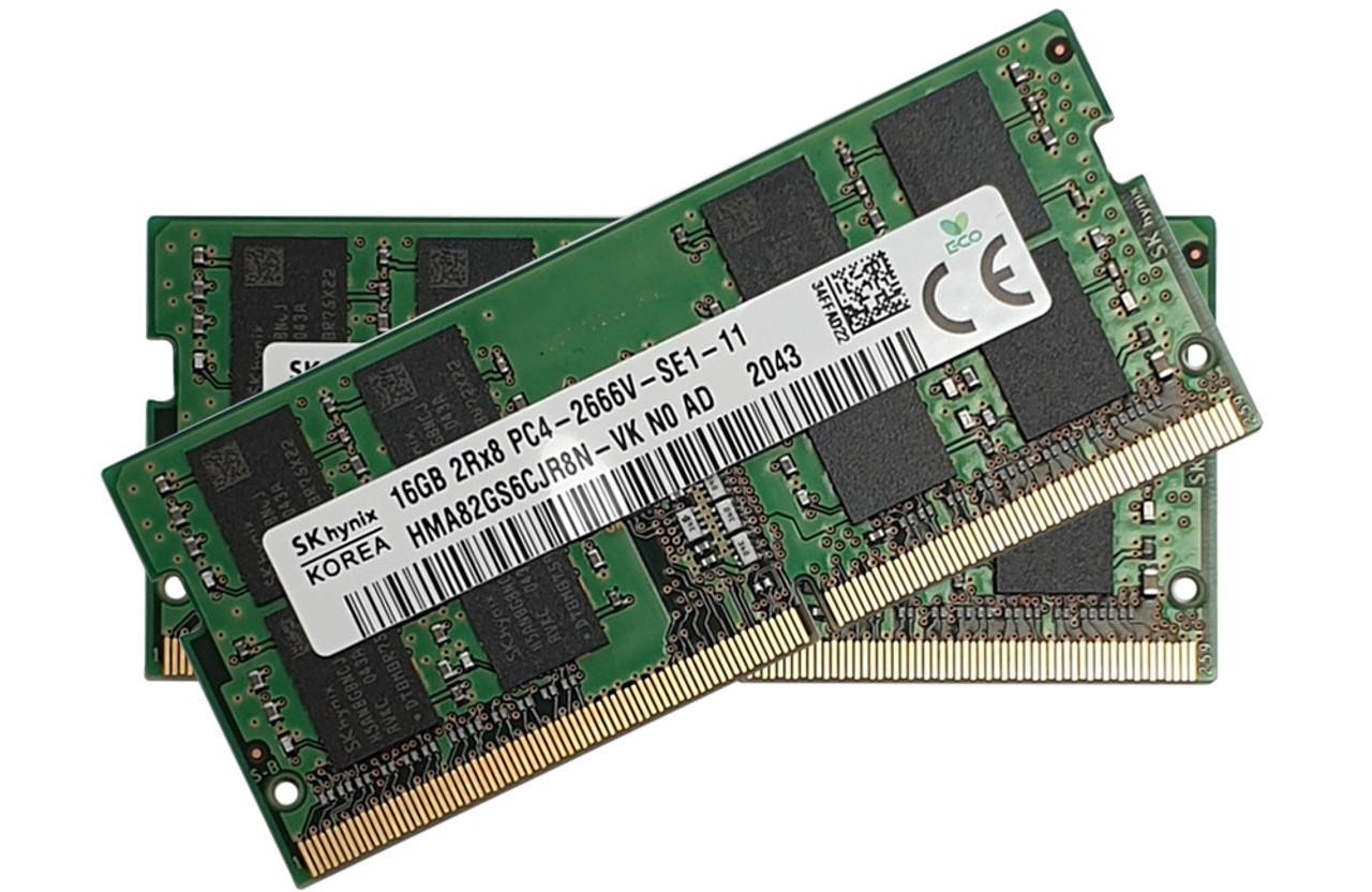 Hynix ram 32Gb (16GB x 2) SODIMM DDR4 2666MHz_HMA82GS6CJR8N-VKx2