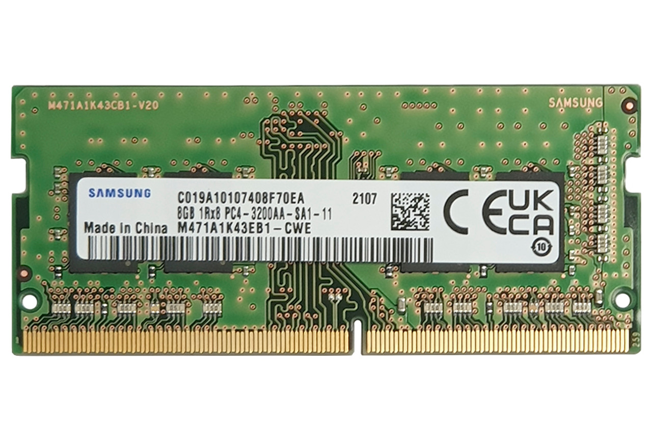 M471A1K43EB1-CWE_8GB sodimm 3200Mhz_Samsung ram