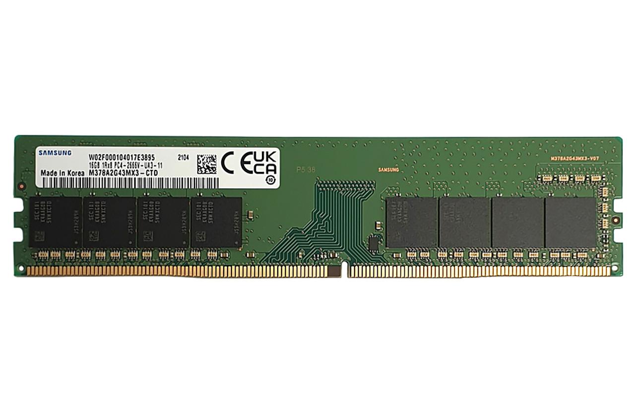 16GB_2666Mhz_DDR4_UDIMM_M378A2G43MX3-CTD_Samsung ram