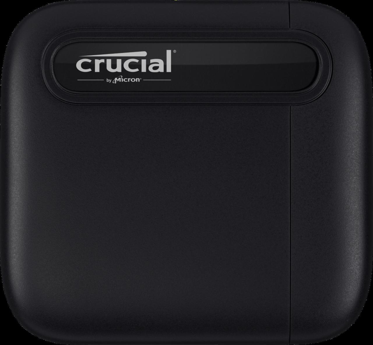Crucial X6 500GB portable SSD_SSD-CT500X6SSD9