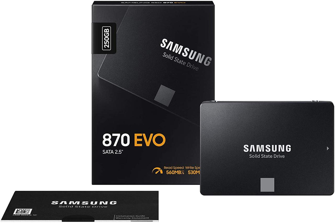 Samsung 870 Evo 250GB 2.5-inch SATA III 6G Magician software solid state drive