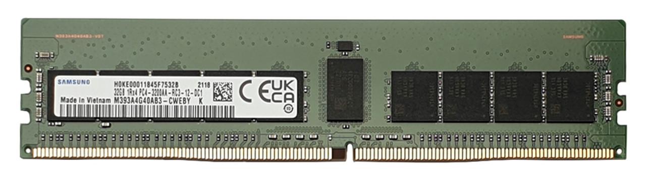 32GB DDR4-3200_PC4-25600 ECC Registered_M393A4G40AB3-CWE