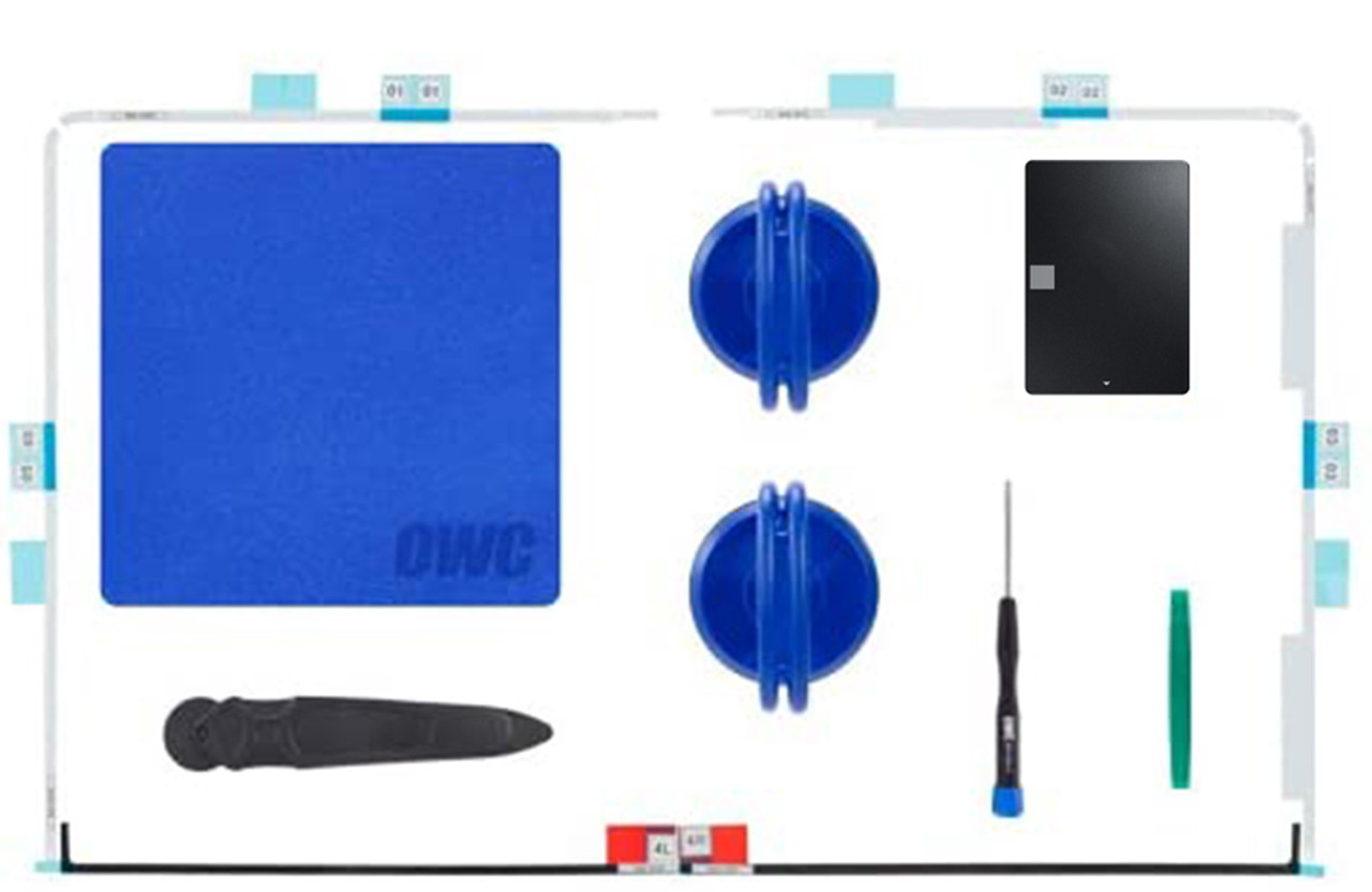 Crucial MX500_SSD and HDD DIY tool Kit for 21.5-inch iMac 2012-2019