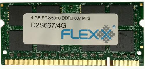 4GB ram ( 4GB x 1 ), 200-pin SODIMM, DDR2 PC2-5300 memory module ( For Mac ) (D2S667/4GSE16C)