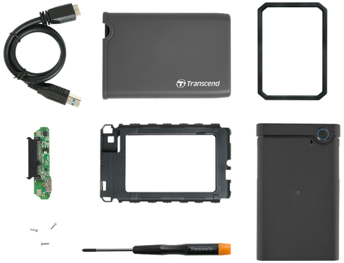 Transcend Portable Storage for PC or laptop SSD/HDD Upgrade Kit