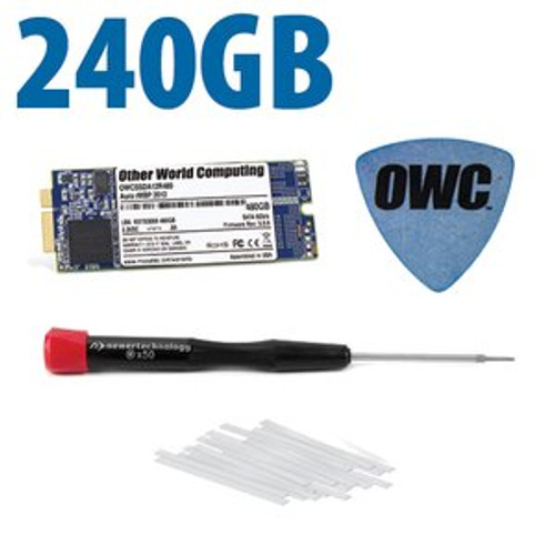 OWC 240GB Aura 6G Solid State Drive for Late 2012 and Early 2013 iMac with DIY kit