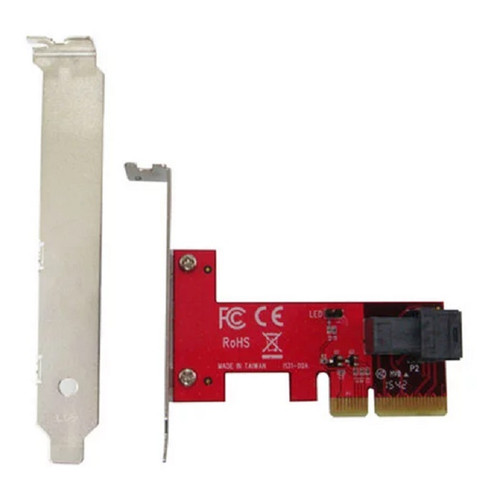 Lycom PCIe 3.0 x4 Host Adapter with miniSAS HD 36P for U.2 PCIe-NVMe SSD (PE-131)