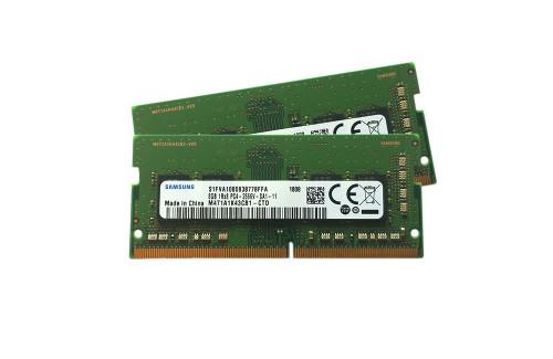 Samsung 16GB kit (2 x 8GB) DDR4,M471A1K43CB1-CTD