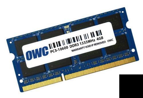 4GB DDR3 ram_sodimm_1333MHz_204-pin_Mac ram_OWC memory_ OWC1333DDR3S4GB