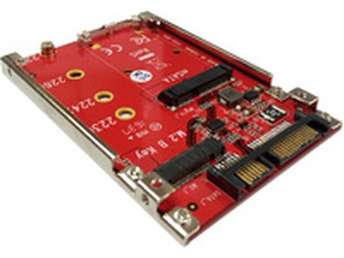 "Lycom DT-135, to convert mSATA or M.2 SATA SSD to 2.5"" 7mm SATA"