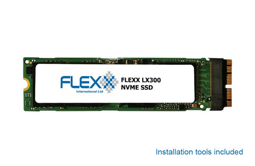 Flexx LX300 1TB NVME SSD Kit for MacBook Pro, Air and iMac from late 2013 on