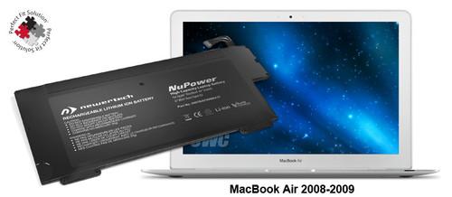 battery MacBook Air 2008-2009, NWTBAP89MBA37