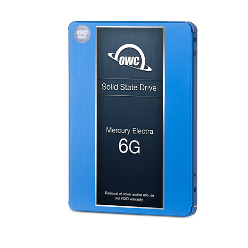480GB OWC Extreme 6G SSD and OWC Accelsior S PCIe to 2.5-inch adapter bundle