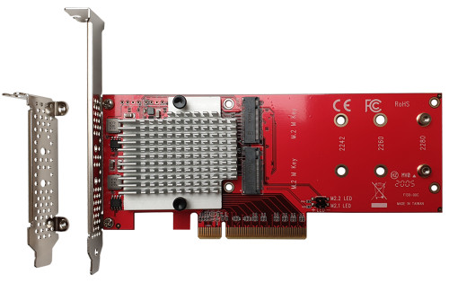 DT-130 dual NVME SSD adapter