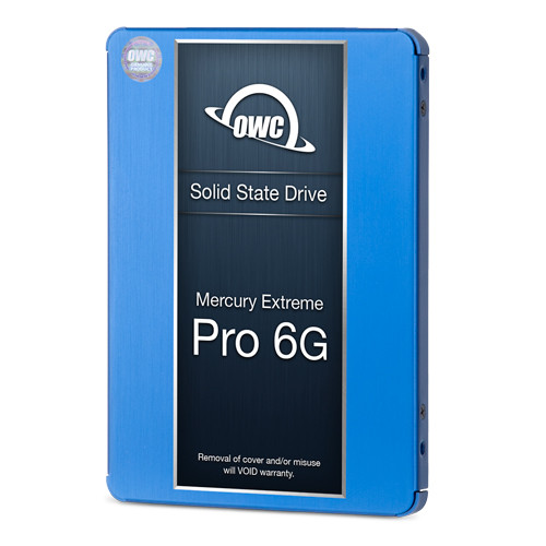 2TB OWC Mercury Extreme 6G SSD and Data Doubler (DVD drive to SSD replacement) for select 2010 - 2011 iMacs