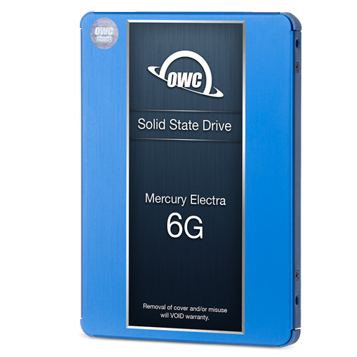 1TB OWC Mercury Electra 6G SSD and HDD DIY Bundle Kit for all iMac Mid 2011