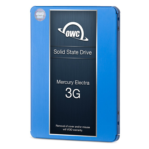 500GB OWC Mercury Electra 3G SSD and Data Doubler (DVD drive to SSD replacement) for select 27-inch 2010 - 2011 iMacs