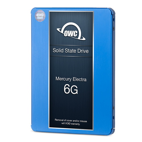 500GB OWC Mercury Electra 6G SSD - SSD Bay Add-In Kit for 2011 21.5-inch iMacs