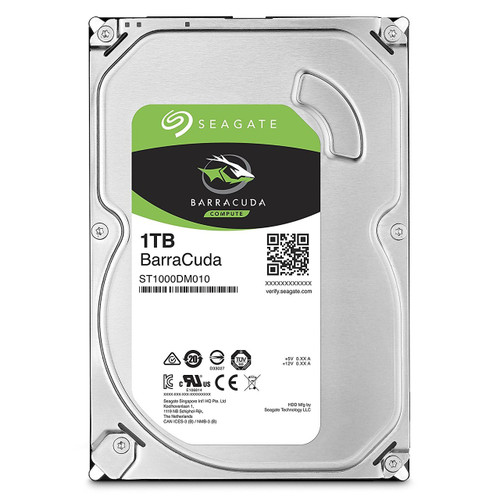 Seagate Barracuda 1TB, 7200 SATA 3 6GB/s 7200rpm