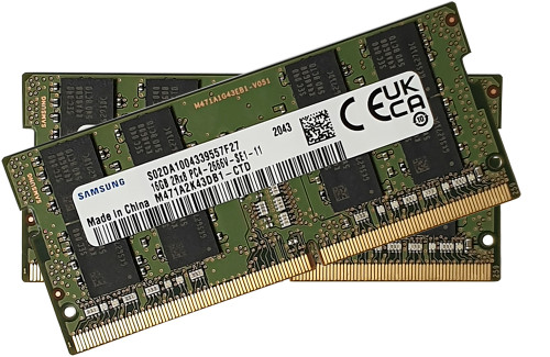 32GB (16GB x 2) Samsung DDR4 2666Mhz_M471A2K43DB1-CTDx2