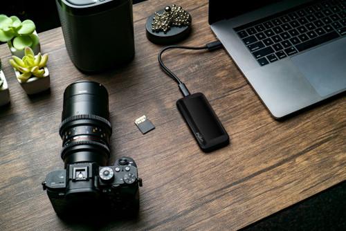 Crucial X8 2TB USB 3.2 Gen-2 Portable SSD