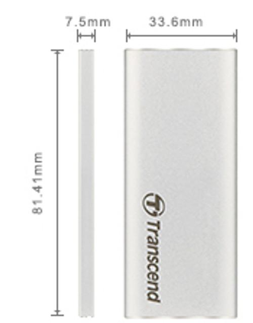 Transcend M.2 SATA (2242) SSD USB 3.1 Enclosure Kit