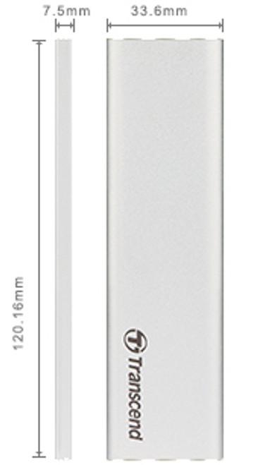 Transcend M.2 SATA (2242/2260/2280 ) SSD USB 3.1 Enclosure Kit